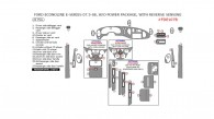 Ford Econoline E-Series 2007.5-2008, Interior Dash Kit, W/o Power Package, With Reverse Sensing, 21 Pcs.