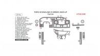Ford Econoline E-Series 2009, 2010, 2011, 2012, 2013, 2014, 2015, Full Interior Kit, 25 Pcs.