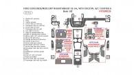 Ford Explorer / Mercury Mountaineer 2002, 2003, 2004, With Digital A/C Controls, Basic Interior Kit, 25 Pcs.