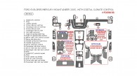 Ford Explorer/Mercury Mountaineer 2005, Interior Dash Kit, With Digital Climate Control, 25 Pcs.