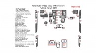 Ford F-250/F-550 1999, 2000, 2001, 2002, 2003, 2004, King Ranch, Full Interior Kit, 34 Pcs., Match OEM