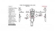 Ford Thunderbird 2002, 2003, 2004, 2005, Main Interior Kit, 26 Pcs.