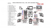 Ford Expedition 2003, 2004, 2005, 2006, Interior Kit, Non-Eddie Bauer Edition, 2WD, With Advance Track, 23 Pcs.