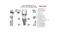 Ford Windstar 2001, 2002, 2003, Full Interior Kit, With Message Center, 31 Pcs.
