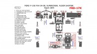 Ford F-150 2004, 2005, 2006, 2007, 2008, FX4, Interior Kit, SuperCrew, Floor Shifter, 42 Pcs., OEM Match