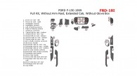Ford F-150 1999, Extended Cab, Full Interior Kit, Without Arm Rest, Extended Cab, Without Glove Box, 26 Pcs.