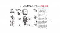 Ford Windstar 1999-2000, Full Interior Kit, Without Message Center, 32 Pcs.