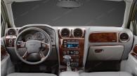 GMC Envoy 2006, 2007, 2008, 2009 / Isuzu Ascender 2006, 2007, 2008, For Models Without OEM Wood, Main Interior Kit, 42 Pcs.