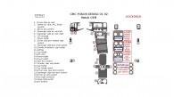 GMC Yukon Denali 2001-2002, Full Interior Kit, OEM Match , 25 Pcs.