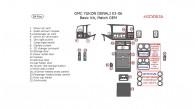 GMC Yukon Denali 2003, 2004, 2005, 2006, Basic Interior Kit, 24 Pcs., OEM Match.