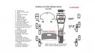 Honda Accord 1998, 1999, 2000, Sedan, Full Interior Kit, 28 Pcs.