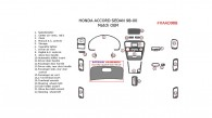 Honda Accord 1998, 1999, 2000, Sedan, Interior Dash Kit, Addition To OEM, 22 Pcs., Match OEM