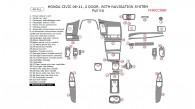 Honda Civic 2006, 2007, 2008, 2009, 2010, 2011, 2 Door, With Navigation System, Full Interior Kit, 48 Pcs.