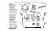 Honda Civic 2012, Without Navigation System, Full Interior Kit (Sedan Only), 51 Pcs.