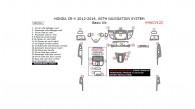 Honda CR-V 2012, 2013, 2014, With Navigation System, Basic Interior Kit, 28 Pcs.