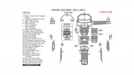 Honda Odyssey 2011, 2012, 2013, Full Interior Kit, 49 Pcs.