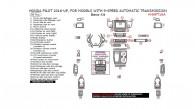 Honda Pilot 2016, 2017, 2018, For Models With 9-Speed Automatic Transmission, Basic Interior Kit, 50 Pcs.
