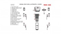 Honda Civic 2002, Interior Dash Kit, Automatic, 4 Door, 22 Pcs.