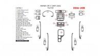 Honda CR-V 1997, 1998, 1999, 2000, 2001, Full Interior Kit, 27 Pcs.