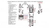 Hyundai Tiburon 2003, 2004, 2005, With Digital Climate Control, With Manual Transmission, Full Interior Kit, 28 Pcs.