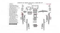 Infiniti G37 Sedan 2010, 2011, 2012, 2013, Over OEM Kit, Full Interior Kit, 46 Pcs.