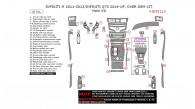 Infiniti M 2011, 2012, 2013/Infiniti Q70 2014, 2015, 2016, Over OEM Kit, Main Interior Kit, 36 Pcs.