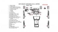 Jeep Grand Cherokee 2003-2004, Interior Dash Kit, Limited, 28 Pcs.