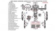 Jeep Grand Cherokee 2005, 2006, 2007, Laredo With Navigation System, Full Interior Kit, 63 Pcs.