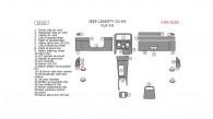 Jeep Liberty 2002, 2003, 2004, Full Interior Kit, 29 Pcs.