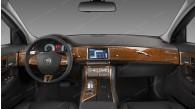 Jaguar XF 2009, 2010, 2011, Main Interior Kit, 46 Pcs.
