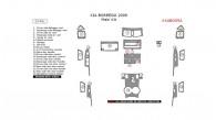 Kia Borrego 2009, Main Interior Kit, 23 Pcs.