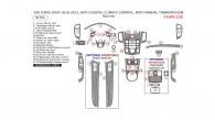 Kia Forte Koup 2010, 2011, 2012, 2013, Interior Dash Kit, With Digital Climate Control, Interior Dash Kit, With Manual Transmission, 35 Pcs.
