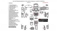 Kia Magentis/Optima 2007-2008, With Manual Climate Control, Full Interior Kit, 53 Pcs.