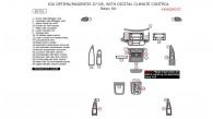 Kia Magentis/Optima 2007-2008, With Digital Climate Control, Basic Interior Kit, 28 Pcs.