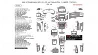 Kia Magentis/Optima 2007-2008, With Digital Climate Control, Full Interior Kit, 53 Pcs.