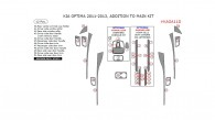 Kia Optima 2011, 2012, 2013, Addition To Main Interior Kit, 12 Pcs.