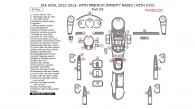Kia Soul 2012-2013, With Premium Infinity Radio (With UVO), Full Interior Kit, 47 Pcs.