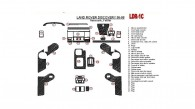 Land Rover Discovery 1995, 1996, 1997, 1998, Automatic, Full Interior Kit, Without OEM, 33 Pcs.
