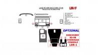 Land Rover Discovery 1995, 1996, 1997, 1998, Manual, Basic Interior Kit, Match OEM, 12 Pcs.