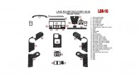 Land Rover Discovery 1995, 1996, 1997, 1998, Manual, Full Interior Kit, Without OEM, 31 Pcs.