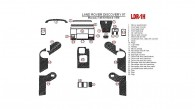 Land Rover Discovery 1995, 1996, 1997, 1998, Manual, Full Interior Kit, Match OEM 1997 Only, 26 Pcs.