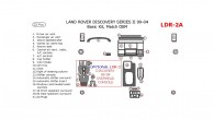 Land Rover Discovery 1999, 2000, 2001, 2002, 2003, 2004, Basic Interior Kit, 22 Pcs, Match OEM