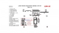 Land Rover Discovery 1999, 2000, 2001, 2002, 2003, 2004, Basic Interior Kit, 23 Pcs,