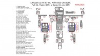 Lincoln LS V6 2003, 2004, 2005, 2006, Full Interior Kit With Match OEM or Basic Kit Without OEM, 37 Pcs.