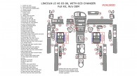 Lincoln LS V6 2003, 2004, 2005, 2006, Full Interior Kit, w/o OEM, with 6 CD Changer, 52 Pcs.