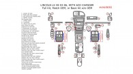 Lincoln LS V8 2003, 2004, 2005, 2006, Full Interior Kit With Match OEM or Basic Kit Without OEM, 39 Pcs.