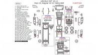 Lincoln MKT 2010, 2011, 2012, Main Interior Kit (Regular Kit Or Match OEM), 40 Pcs.