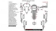 Lincoln MKZ 2013, 2014, 2015, 2016, Full Interior Kit, 50 Pcs.