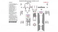 Land Rover Range Rover Evoque 2012, 2013, 2014, 2015, 2016, 2017, Basic Interior Kit (4 Door), 39 Pcs.