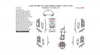 Land Rover LR2 2008/Freelander 2 2007-2008, Addition To Main Interior Kit, 32 Pcs.